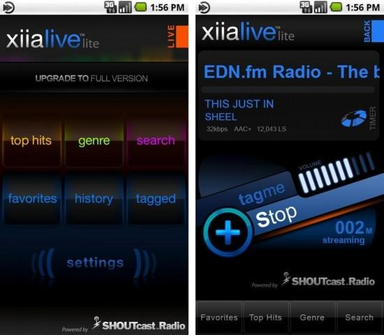 XiiaLive Lite [DroidLive] android app
