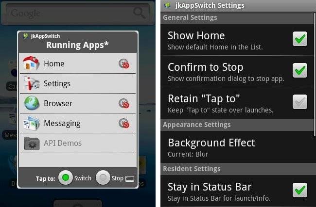 jkAppSwitch android app