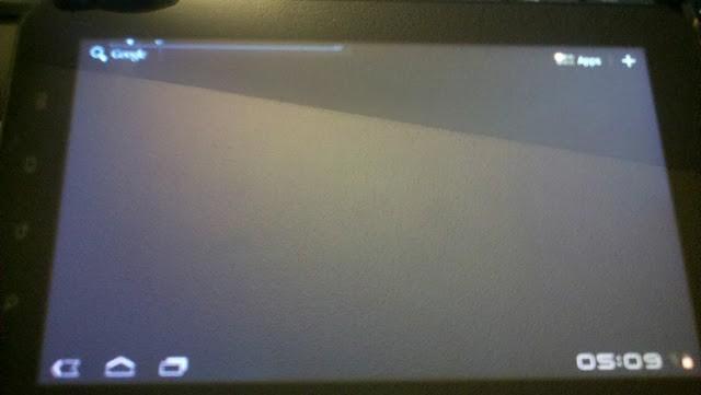 Honeycomb Galaxy Tab