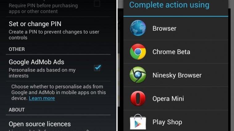 Google Play Store 3.4.7