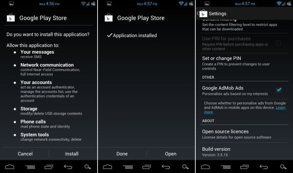 Google Play 3.5.16 APK