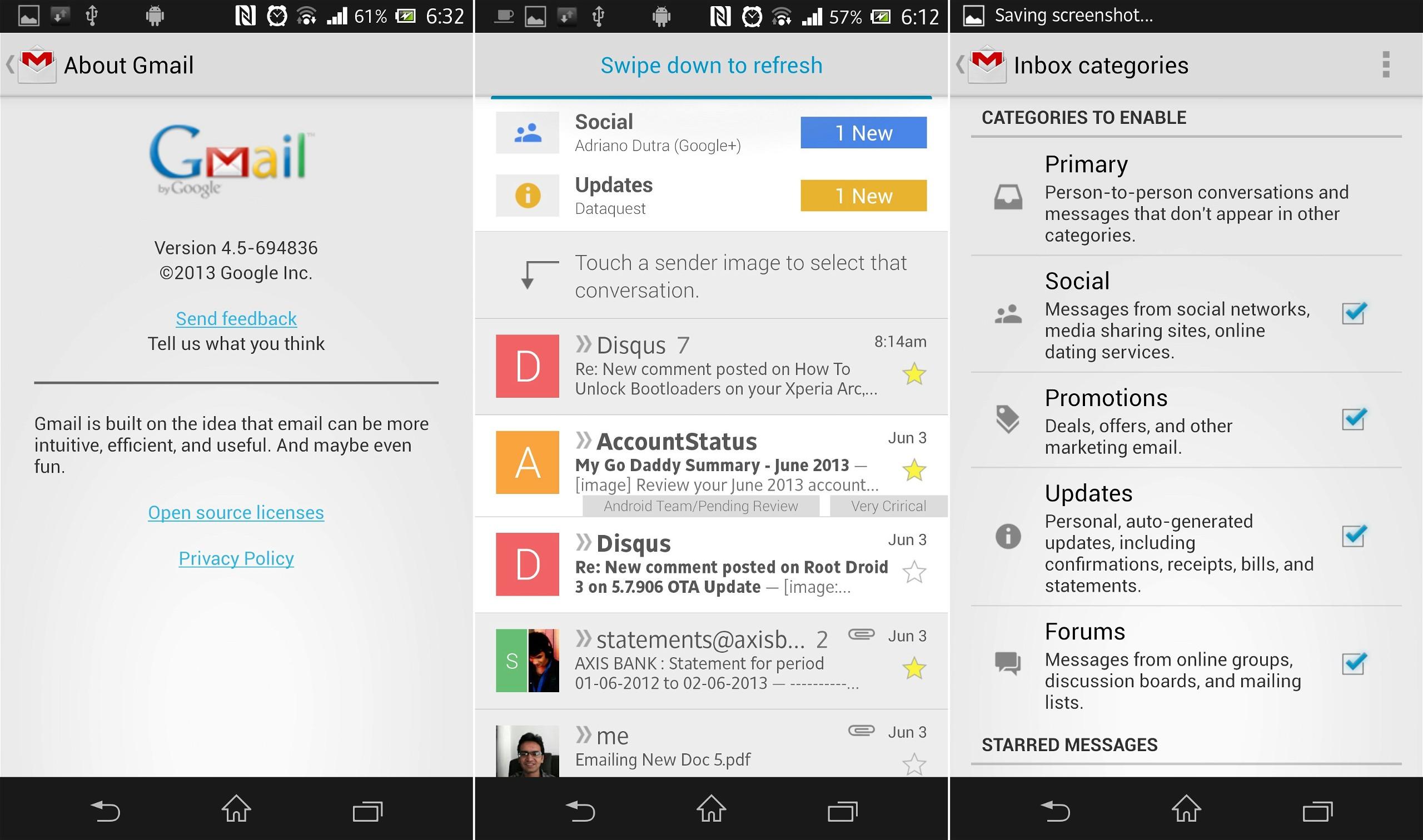 Gmail 4.5 APK
