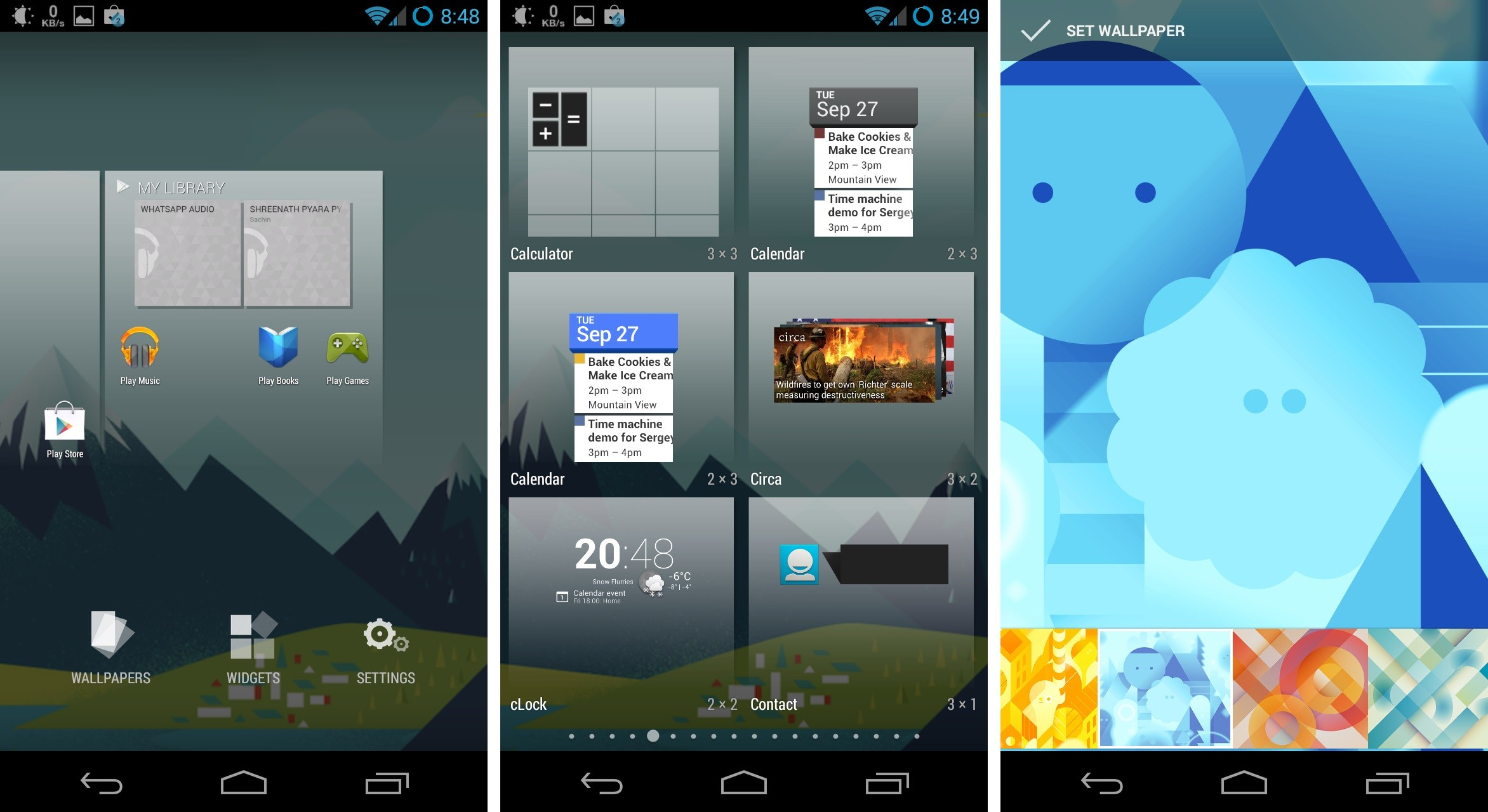 Android 4.4 Launcher (New Google Home)