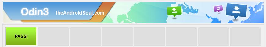 Samsung Galaxy Odin PASS screenshot