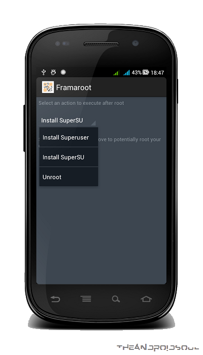 Framaroot-Select