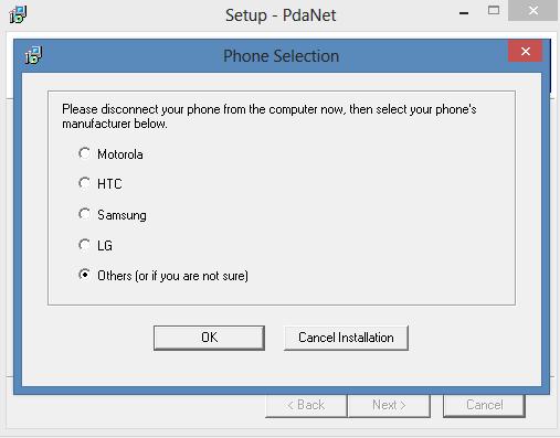 pdanet-device-manufacturer