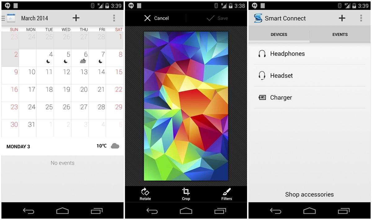 theandroidsoul.com xperia z2 apps Calendar and Wallpaper
