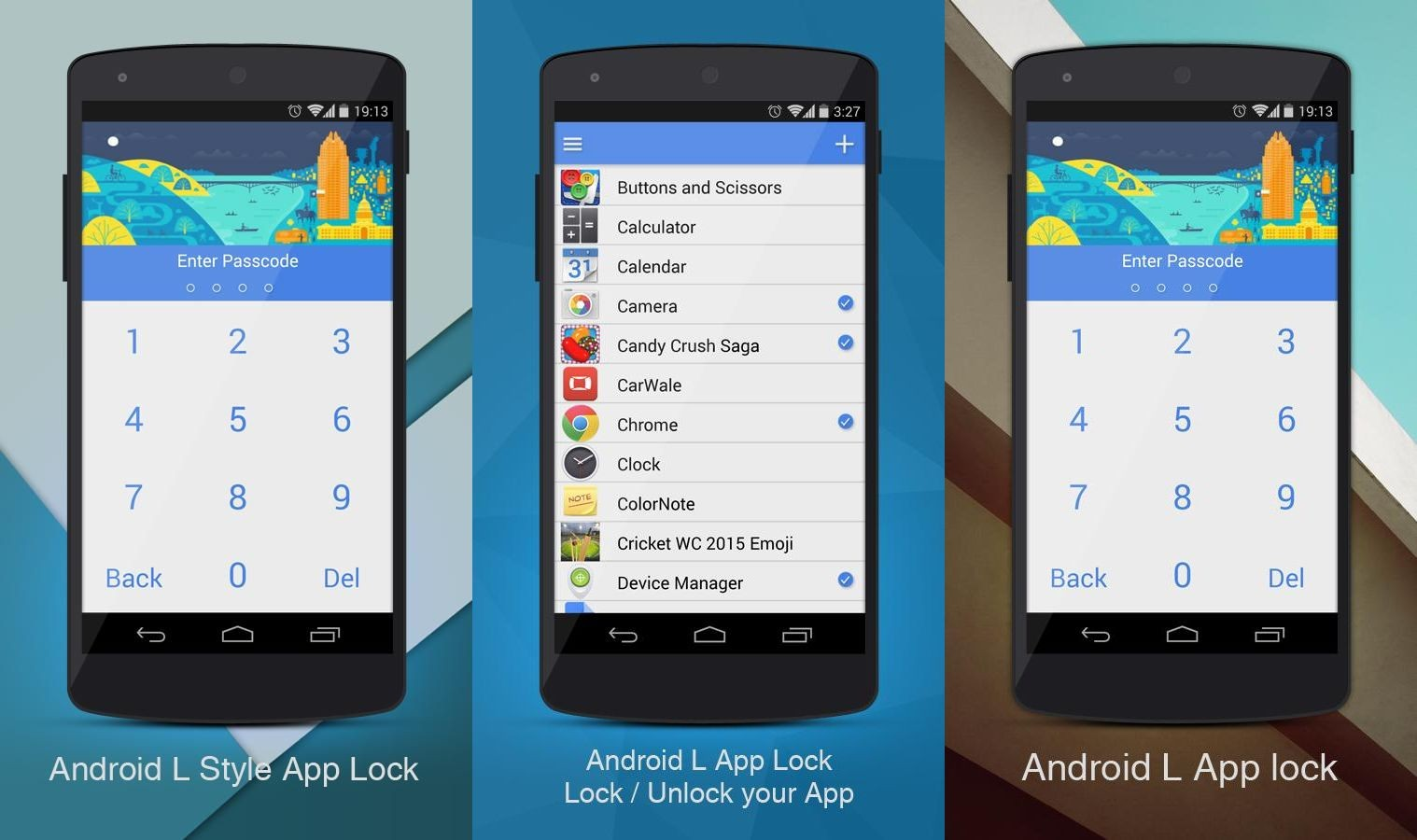 android l app lock