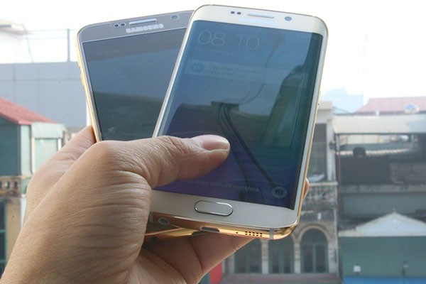 s6 and s6 edge gold