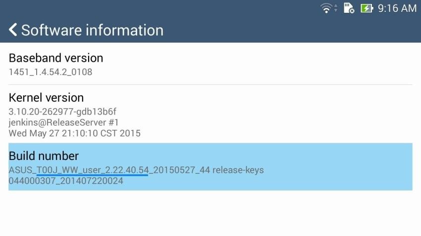 zenfone 5 lollipop update requirement