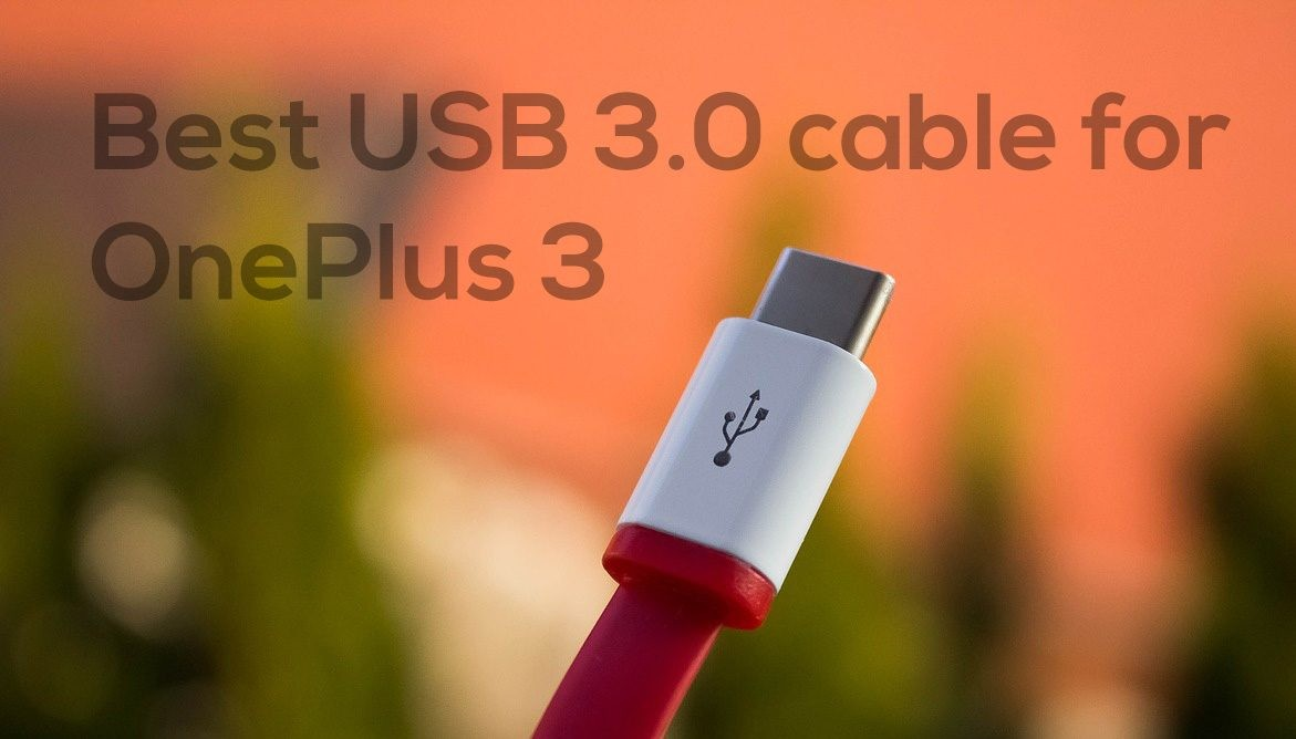 type c cable OnePlus 3