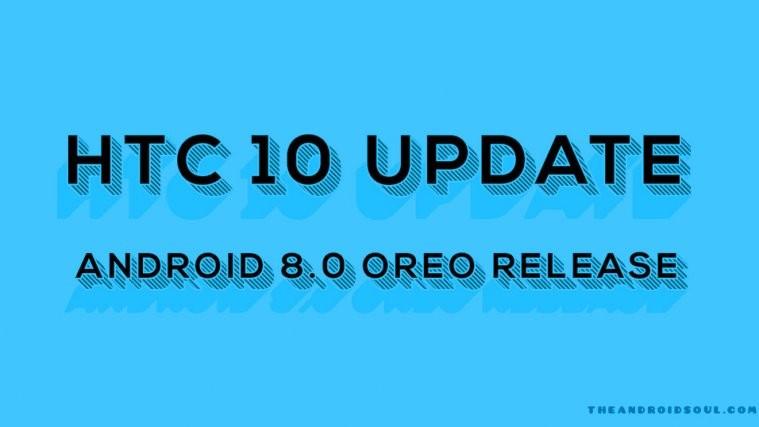 htc 10 Oreo release