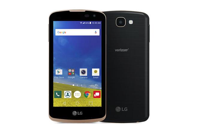 Verizon LG K4 2016 update