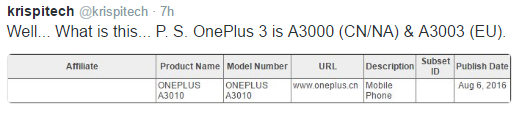 oneplus-3s-release-date