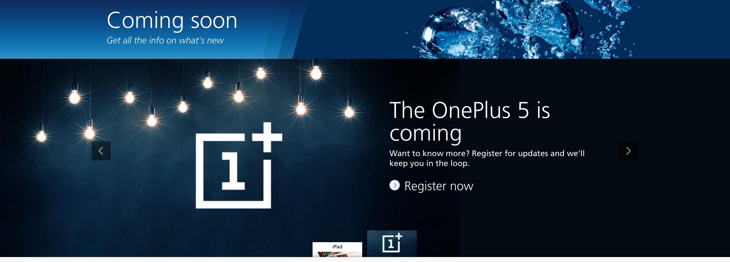 OnePlus 5 O2 UK