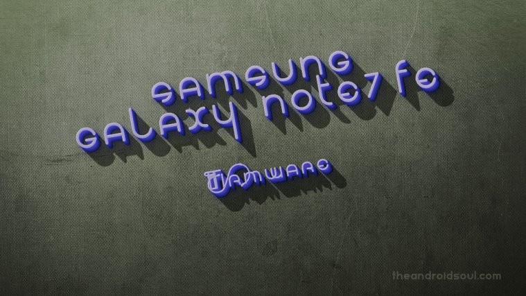 galaxy note 7 fe firmware