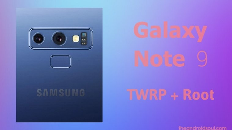 Galaxy Note 9 root