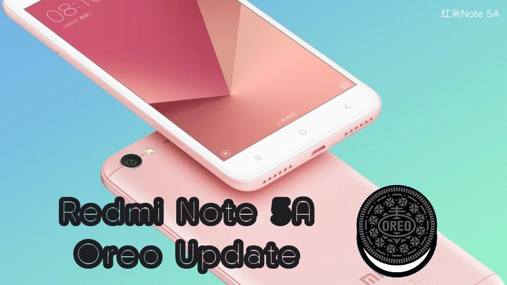 Redmi Note 5 Oreo update release