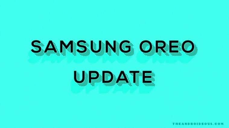 samsung Oreo update rumors