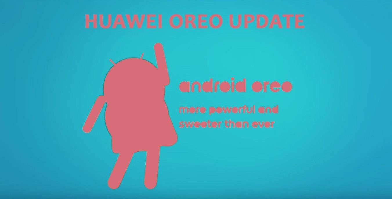 Huawei Oreo update