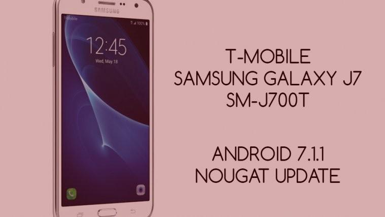 T-Mobile j7 Nougat update