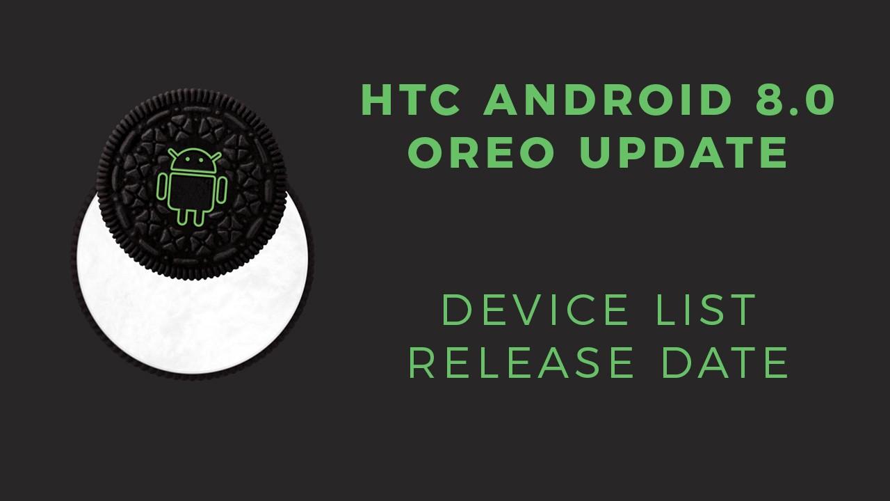 htc Oreo update