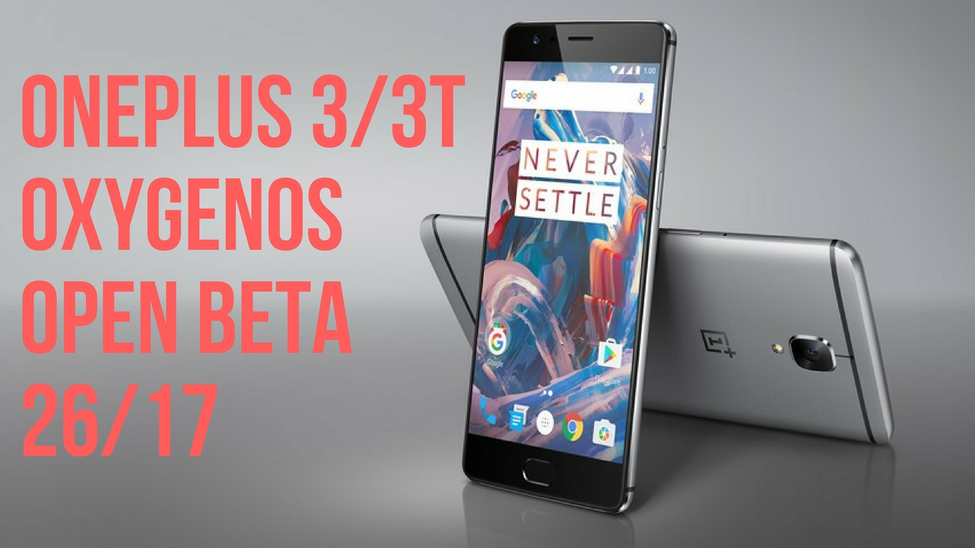 oneplus 3/3t android oreo