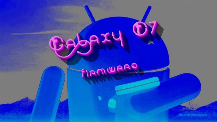 Galaxy C7 firmware