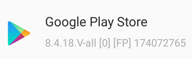 google play store 8.4.18 apk