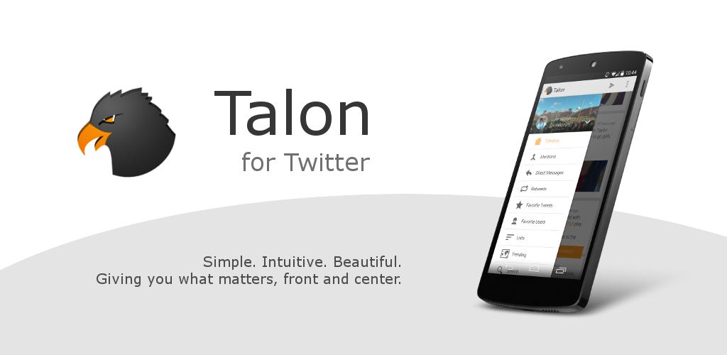 talon for twitter update