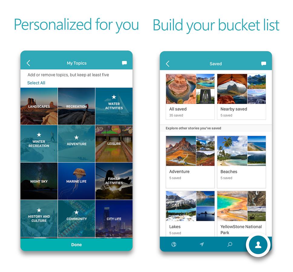 microsoft outings app