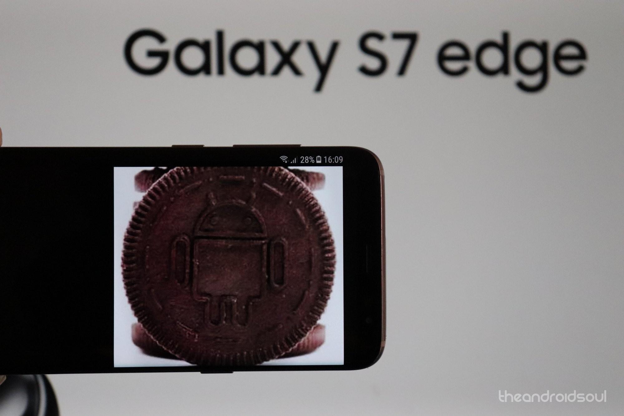 Samsung Galaxy s7 Oreo