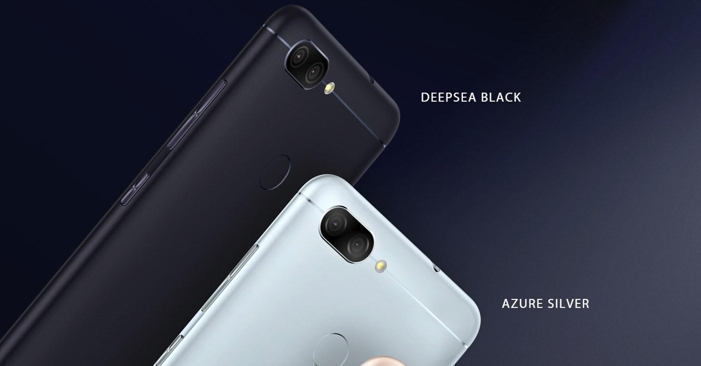 ZenFone max plus color