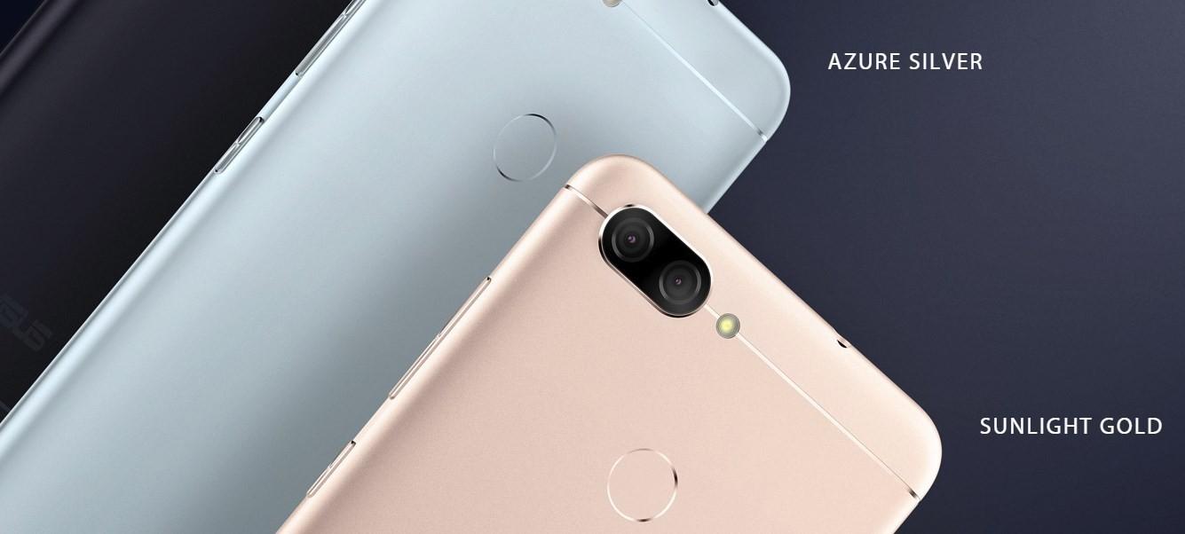 ZenFone max plus colors