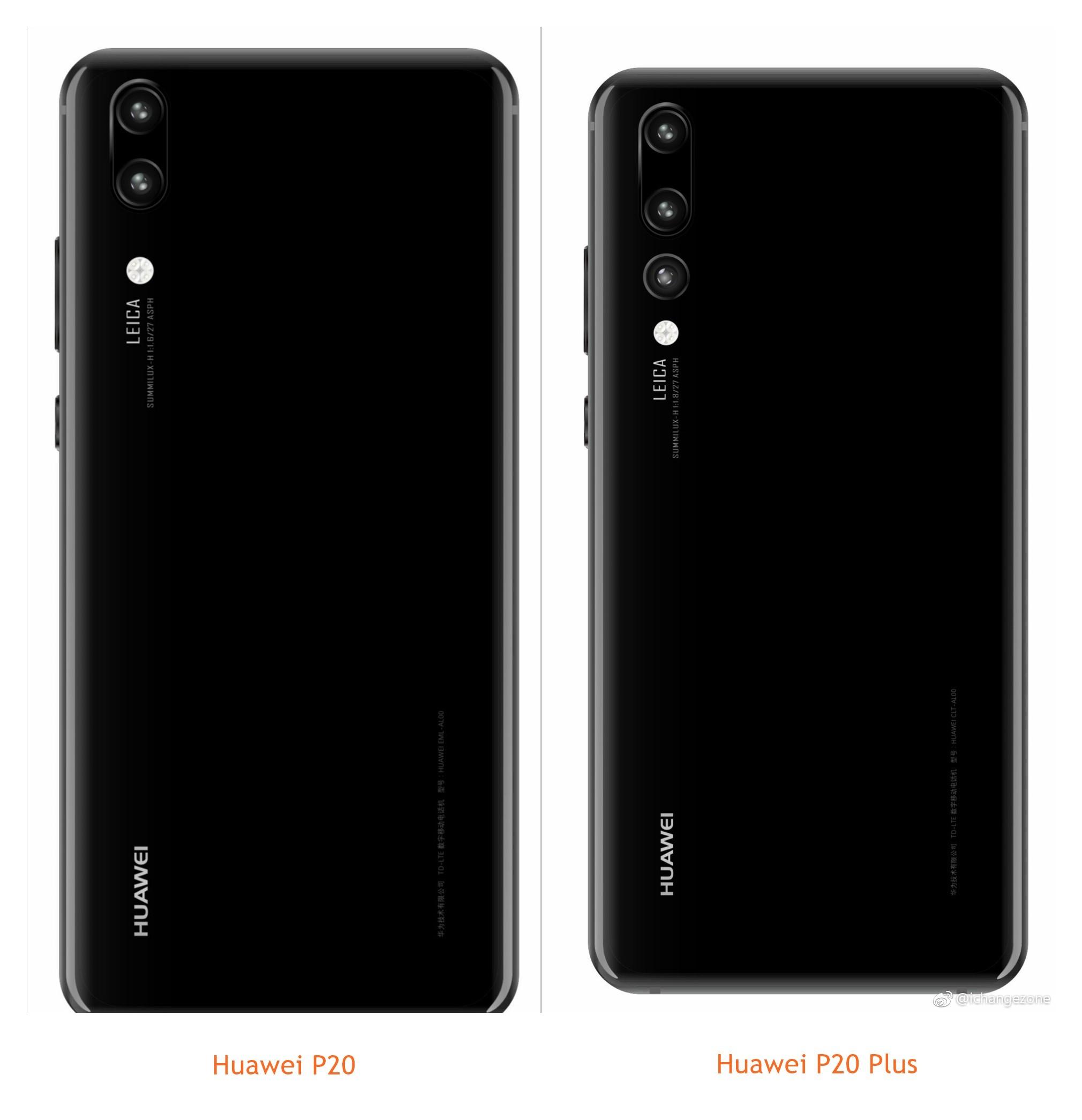Huawei P20 Plus triple camera