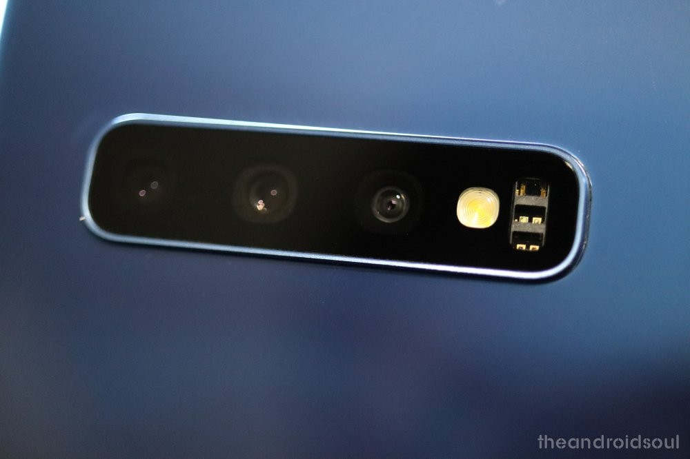 Samsung Galaxy S10 camera