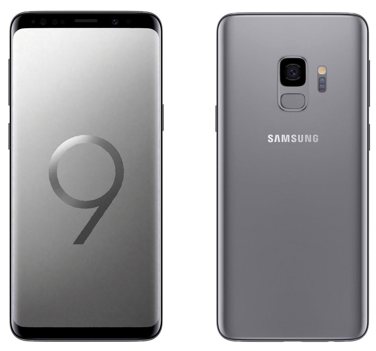 Samsung Galaxy S9 Titanium Gray