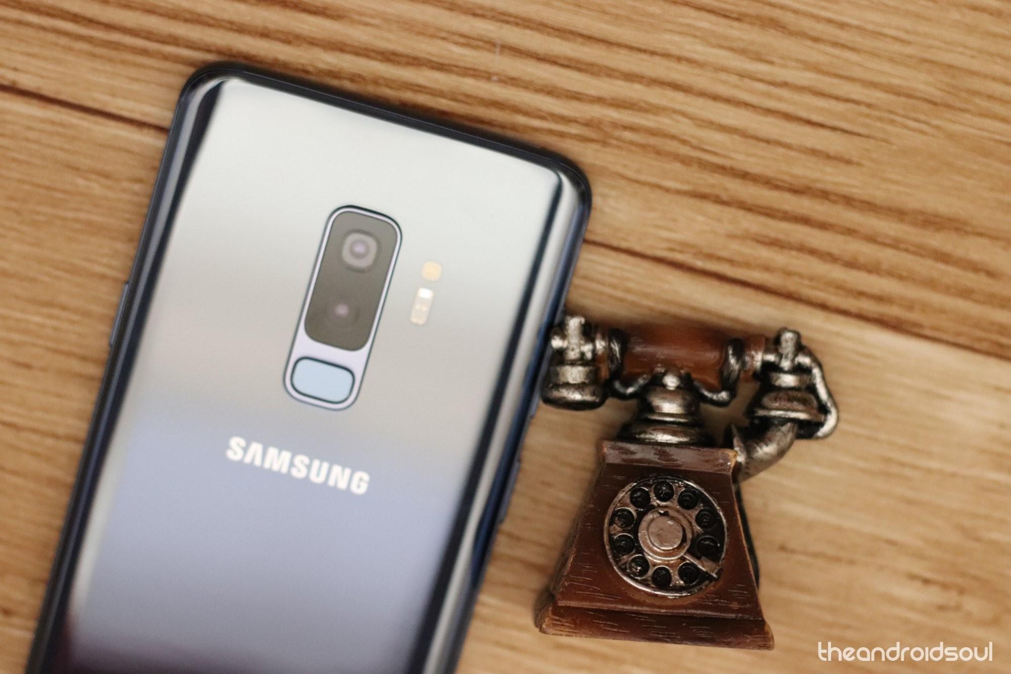 Galaxy S9 Wi-Fi calling