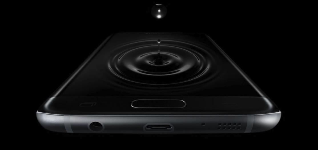 Galaxy s7 edge smartphone