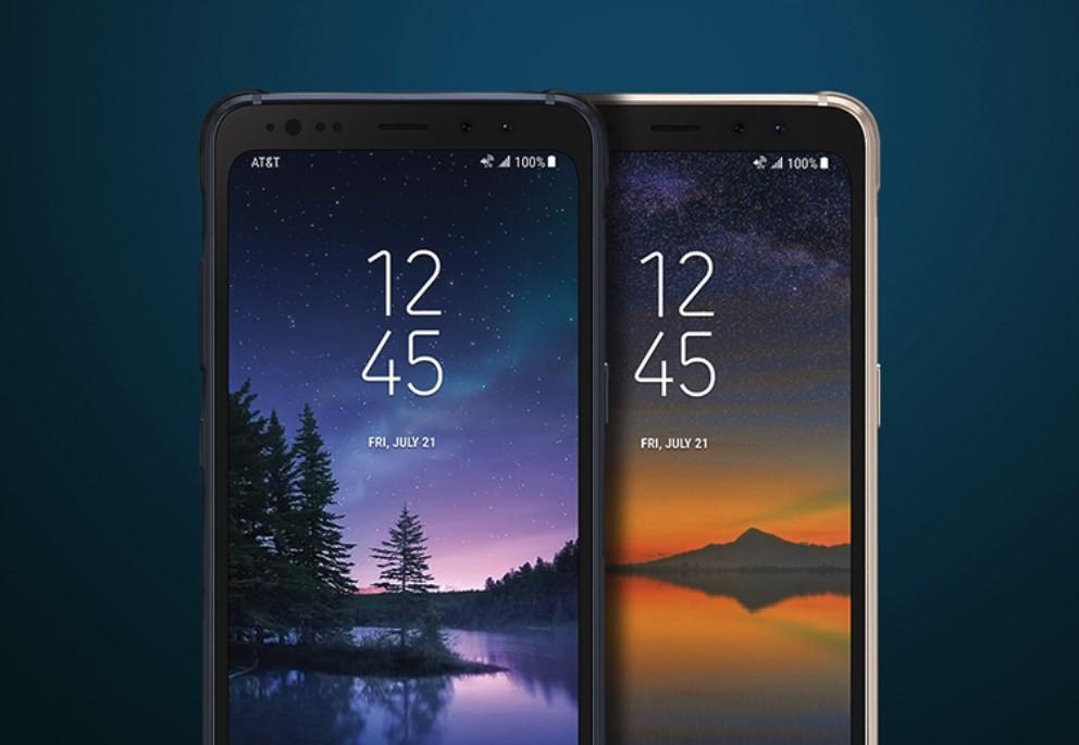 Samsung Galaxy S8 Active smartphone