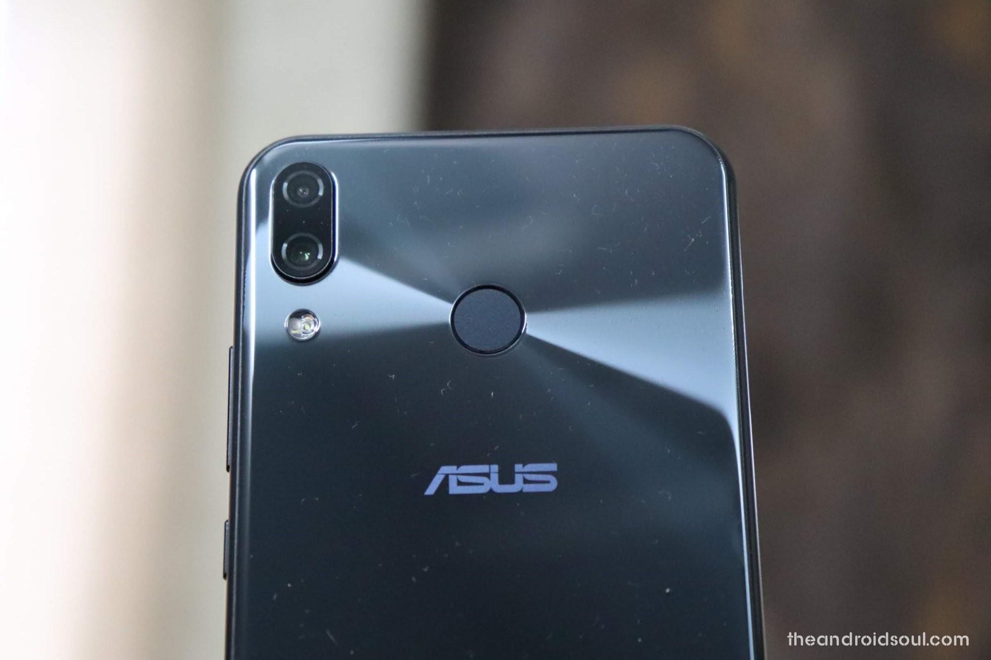 Asus Zenfone 5Z software update