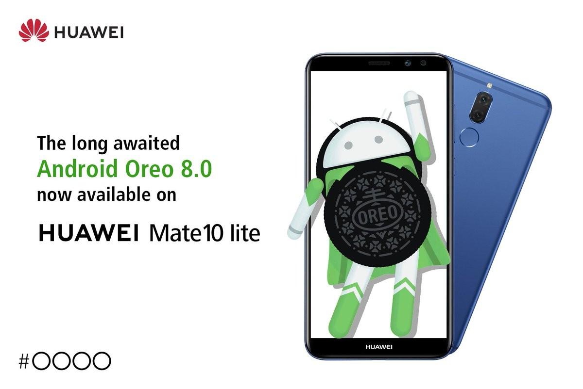 Mate 10 Lite Oreo update