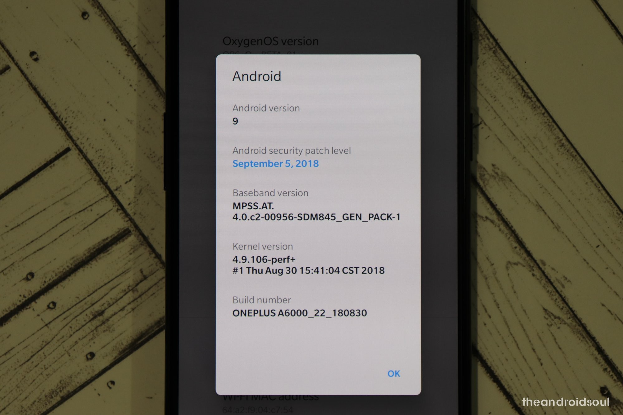 Android 9 Pie for OnePlus 6