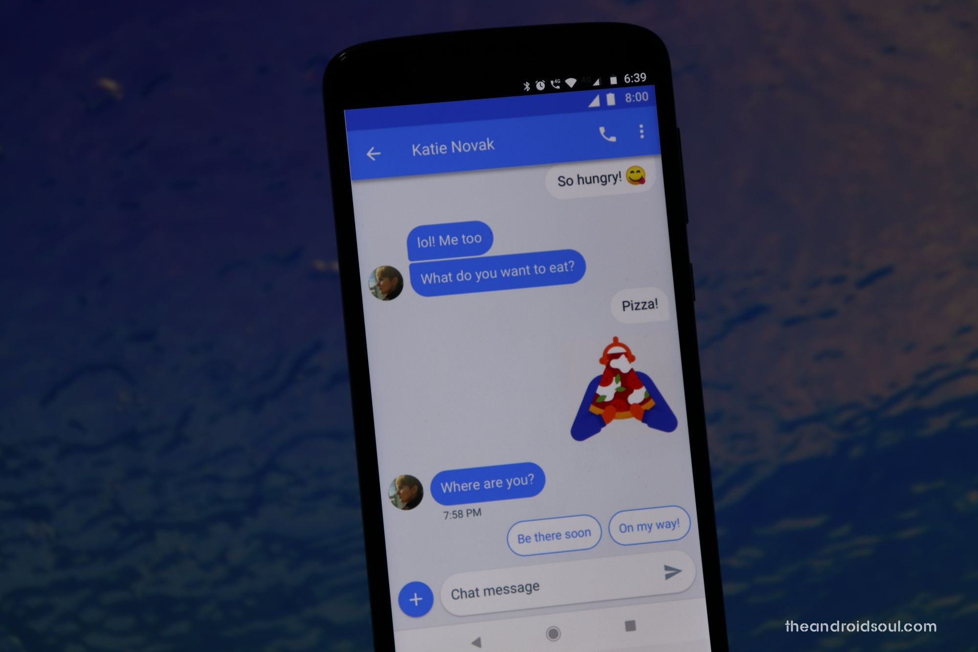 Android Messages for web hacks
