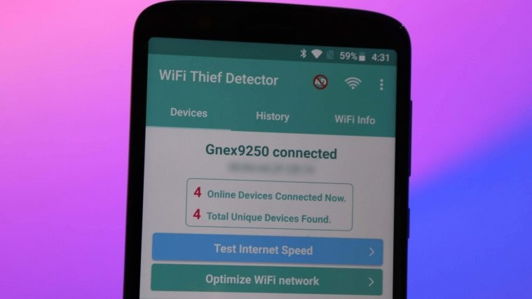 block unauthorized devices from Wi-Fi