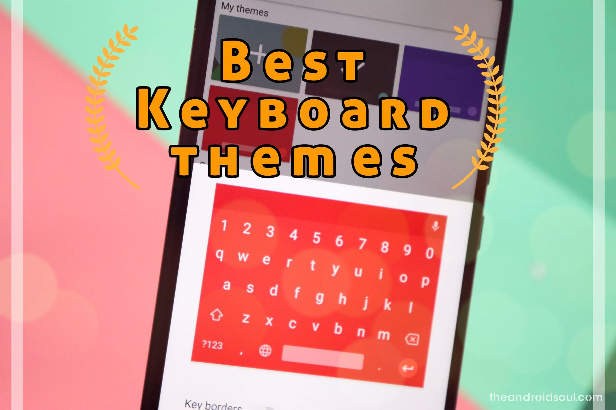 лучшие темы клавиатуры