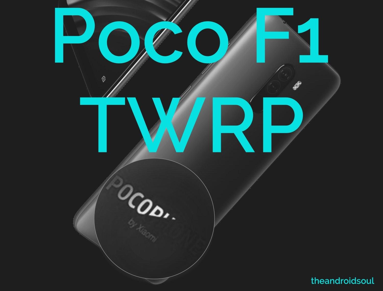 poco f1 twrp