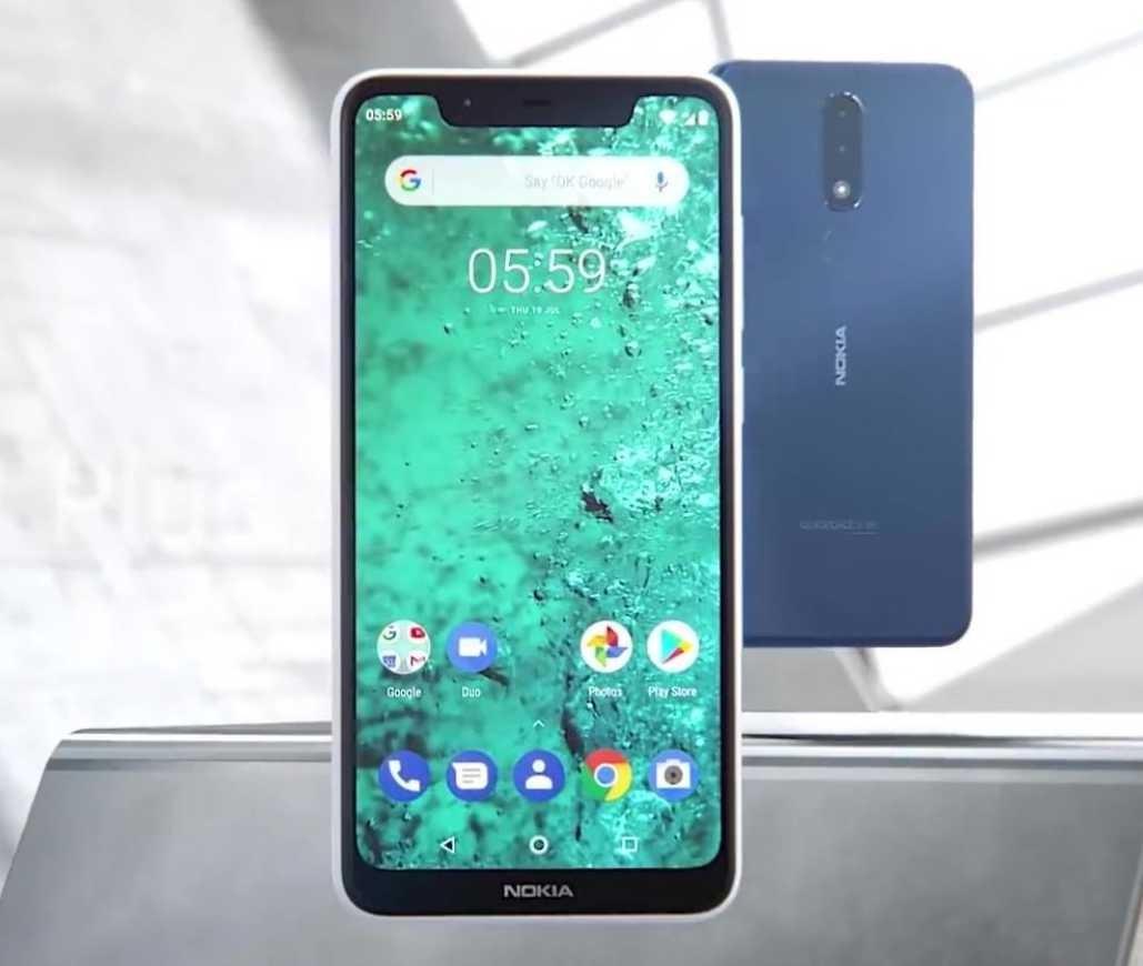 Nokia 5.1 plus images