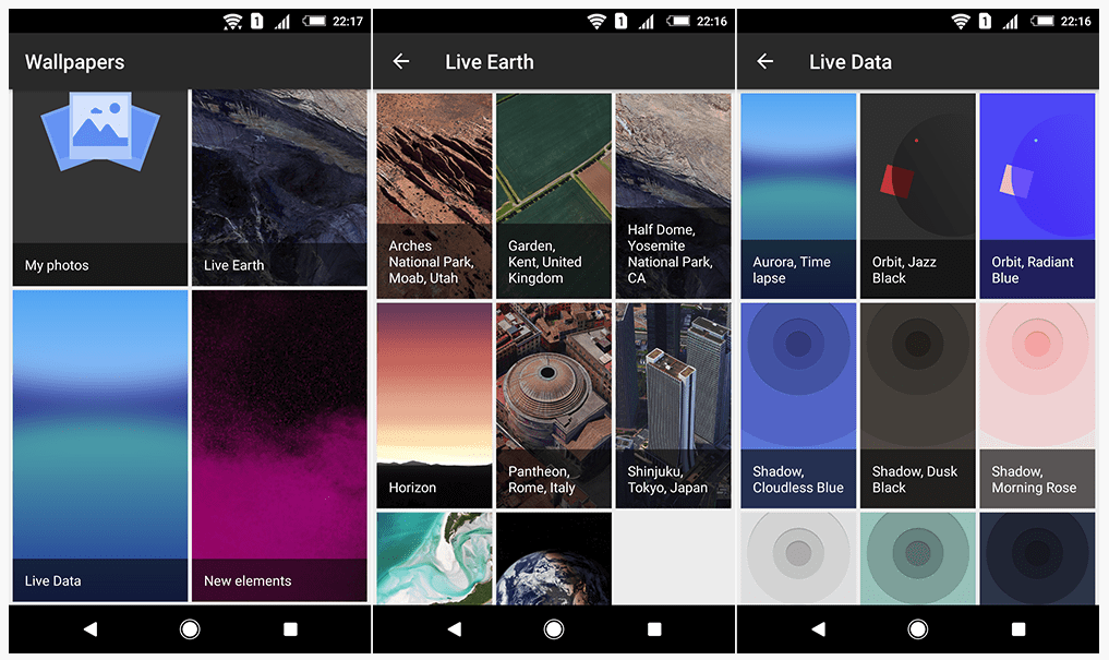 Pixel 3 live wallpaper Android 6.0 Android 7.0 Android 8.0