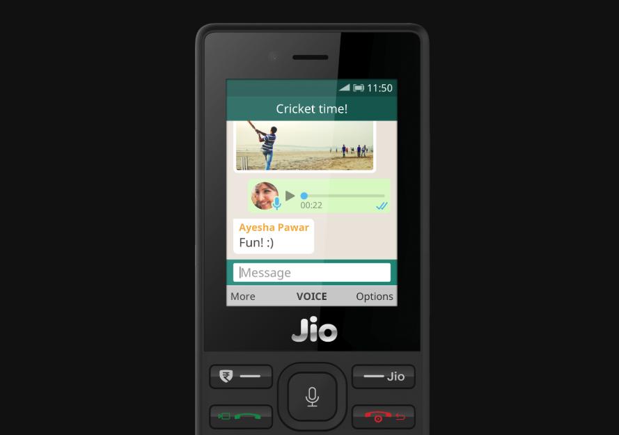 WhatsApp JioPhone